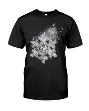 Cycle - Snowflake Classic T-Shirt front