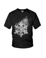 Cycle - Snowflake Youth T-Shirt thumbnail