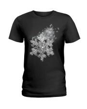Cycle - Snowflake Ladies T-Shirt thumbnail