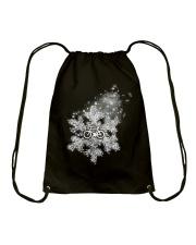 Cycle - Snowflake Drawstring Bag thumbnail