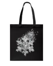 Cycle - Snowflake Tote Bag thumbnail