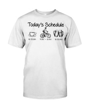 Cycle - Today's Schedule Classic T-Shirt front