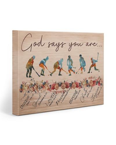 Field Hockey God Says You Are