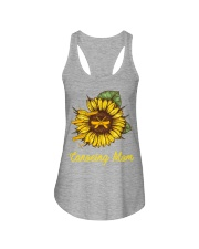 Canoeing - Sunflower Ladies Flowy Tank thumbnail