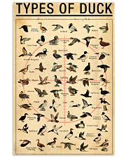 Duck Types Of Duck 11x17 Poster front