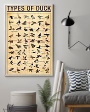 Duck Types Of Duck 11x17 Poster lifestyle-poster-1