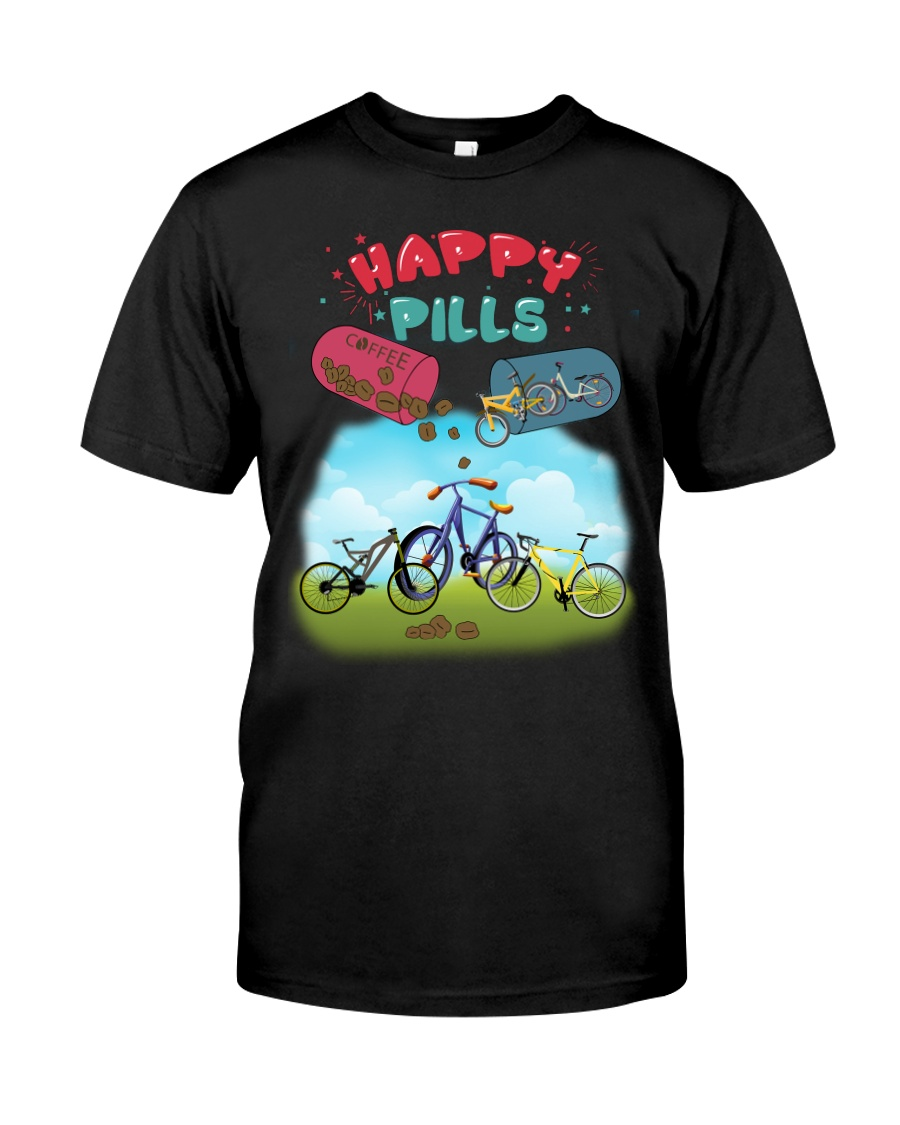 Cycle - Happy Pills Classic T-Shirt