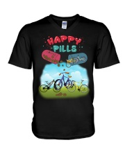 Cycle - Happy Pills V-Neck T-Shirt tile