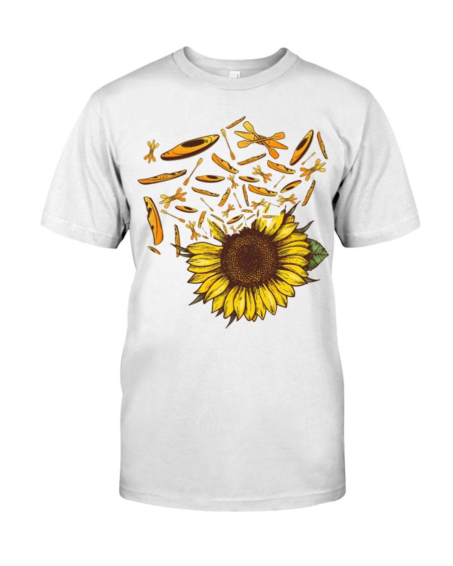 Kayaking - Sunflower Classic T-Shirt