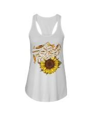 Kayaking - Sunflower Ladies Flowy Tank thumbnail