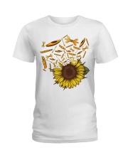 Kayaking - Sunflower Ladies T-Shirt thumbnail