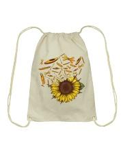 Kayaking - Sunflower Drawstring Bag thumbnail