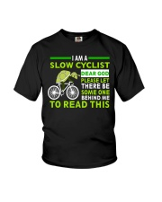 Cycle - I Am A Slow Cyclist Youth T-Shirt thumbnail