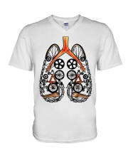 Cycle - Breathe V-Neck T-Shirt thumbnail