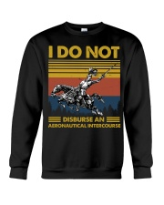 Temp Aeronautical Intercourse Crewneck Sweatshirt thumbnail