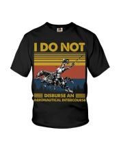Temp Aeronautical Intercourse Youth T-Shirt thumbnail