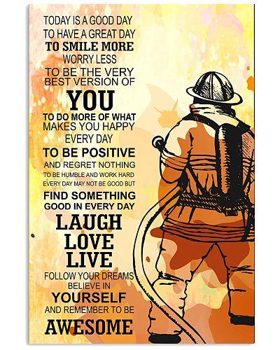 Firefighter - Poster