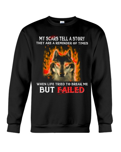 Wolf My Scars Tell A Story