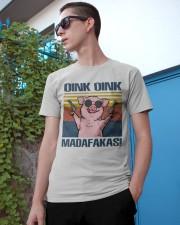 Pig Pew Pew Madafakas Classic T-Shirt apparel-classic-tshirt-lifestyle-17