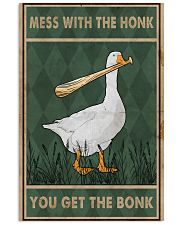 Goose Mess With The Honk Old Green 11x17 Poster front
