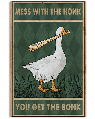 Goose Mess With The Honk Old Green
