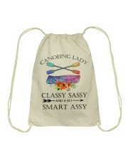 Canoeing - canoeing Lady Drawstring Bag thumbnail