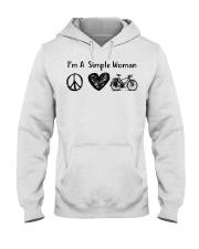 Cycle - I Am A Simple Woman Hooded Sweatshirt thumbnail