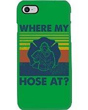 Firefighter Where My House Is Phone Case thumbnail