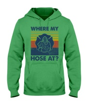 Firefighter Where My House Is Hooded Sweatshirt thumbnail