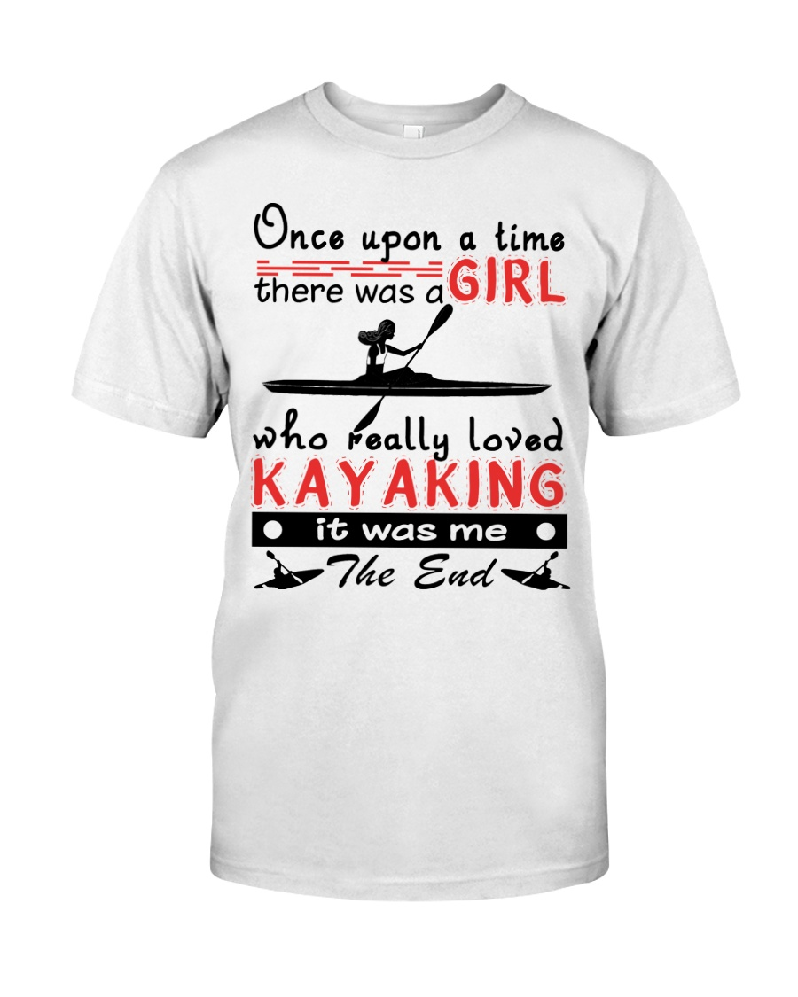 Kayaking - Once Upon A Time Classic T-Shirt