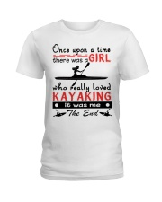 Kayaking - Once Upon A Time Ladies T-Shirt tile
