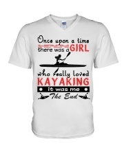 Kayaking - Once Upon A Time V-Neck T-Shirt thumbnail