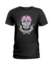 Cycle - Skull Ladies T-Shirt thumbnail