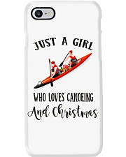 Canoeing - Just A Girl Phone Case thumbnail