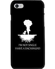 Dachshund - I'm Not Single Phone Case thumbnail