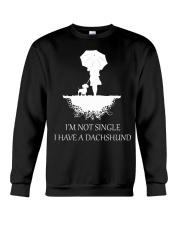 Dachshund - I'm Not Single Crewneck Sweatshirt thumbnail