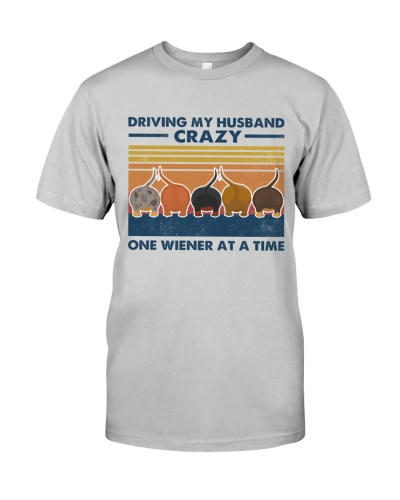 Dachshund Driving My Husband Crazy