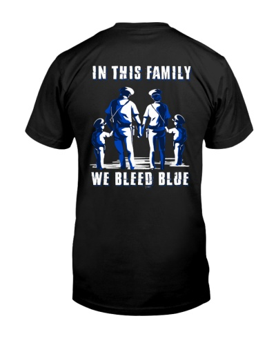 In This Family We Bleed Blue Boy