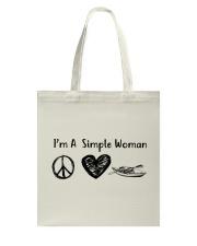 Kayaking - I Am A Simple Woman Tote Bag thumbnail
