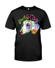 Dachshund - Flower Classic T-Shirt front