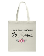 Kayaking - I Am A Simple Woman Tote Bag tile