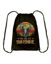 Elephant People Drawstring Bag tile