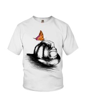 Firefighter - Hat Youth T-Shirt thumbnail