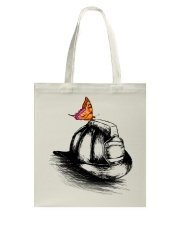 Firefighter - Hat Tote Bag thumbnail
