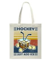 Hockey Whiskey Ice Hockey Tote Bag thumbnail