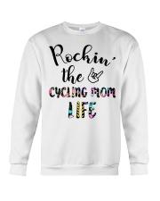 Cycle - Rockin' The Cycling Mom Life Crewneck Sweatshirt thumbnail
