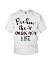 Cycle - Rockin' The Cycling Mom Life Youth T-Shirt thumbnail