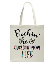 Cycle - Rockin' The Cycling Mom Life Tote Bag thumbnail