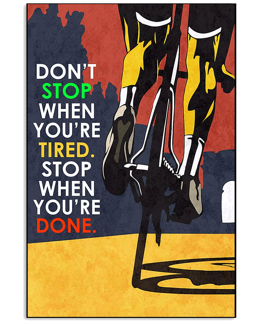 Cycle - Don't Stop - Poster 11x17 Poster