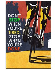 Cycle - Don't Stop - Poster 11x17 Poster front
